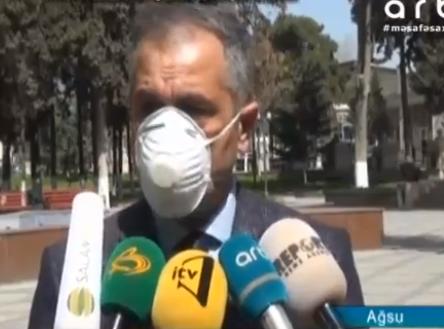 Ağsu rayonunda dzinfeksiya işləri aparılır-Xeberciinfo