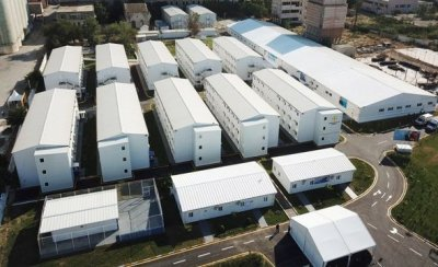 İlham Əliyev və Mehriban Əliyeva Bakıda modul tipli hospitalın açılışında — FOTO