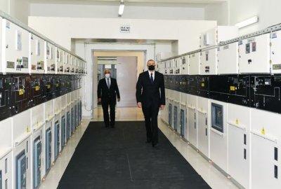 Prezident İlham Əliyev açılışda – FOTO