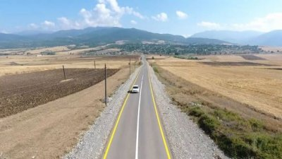 Muğanlı-İsmayıllı-Təzəkənd-Ağbulaq-Qoşakənd avtomobil yolu istifadəyə verilib — FOTO