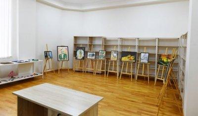 Prezident Balakəndə Uşaq İncəsənət Məktəbinin yeni binasının açılışında — FOTO