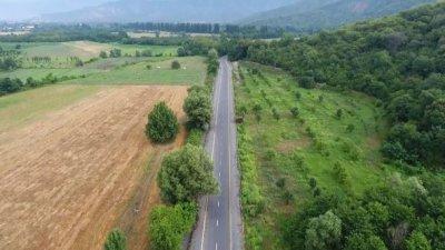 İlham Əliyev yenidən qurulan avtomobil yolunun açılışında — FOTO