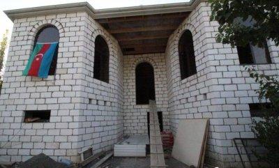 İcra hakimiyyəti şəhid mayorun ailəsinə ev tikdirir — FOTO