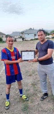 Ağsuda mini futbol idman növü üzrə 16 - 29 yaş gənclər arasında rayon turniri keçirildi
