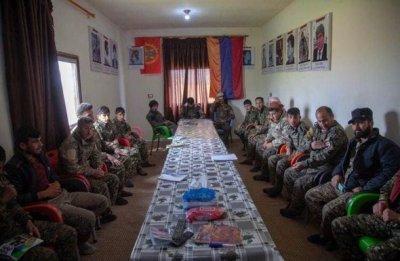 Erməni işğal qüvvələrinin tərkibində vuruşan suriyalı terrorçular - FOTO