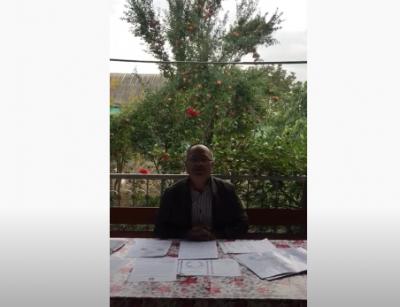 Sahib Eynalovdan Müraciət - Video