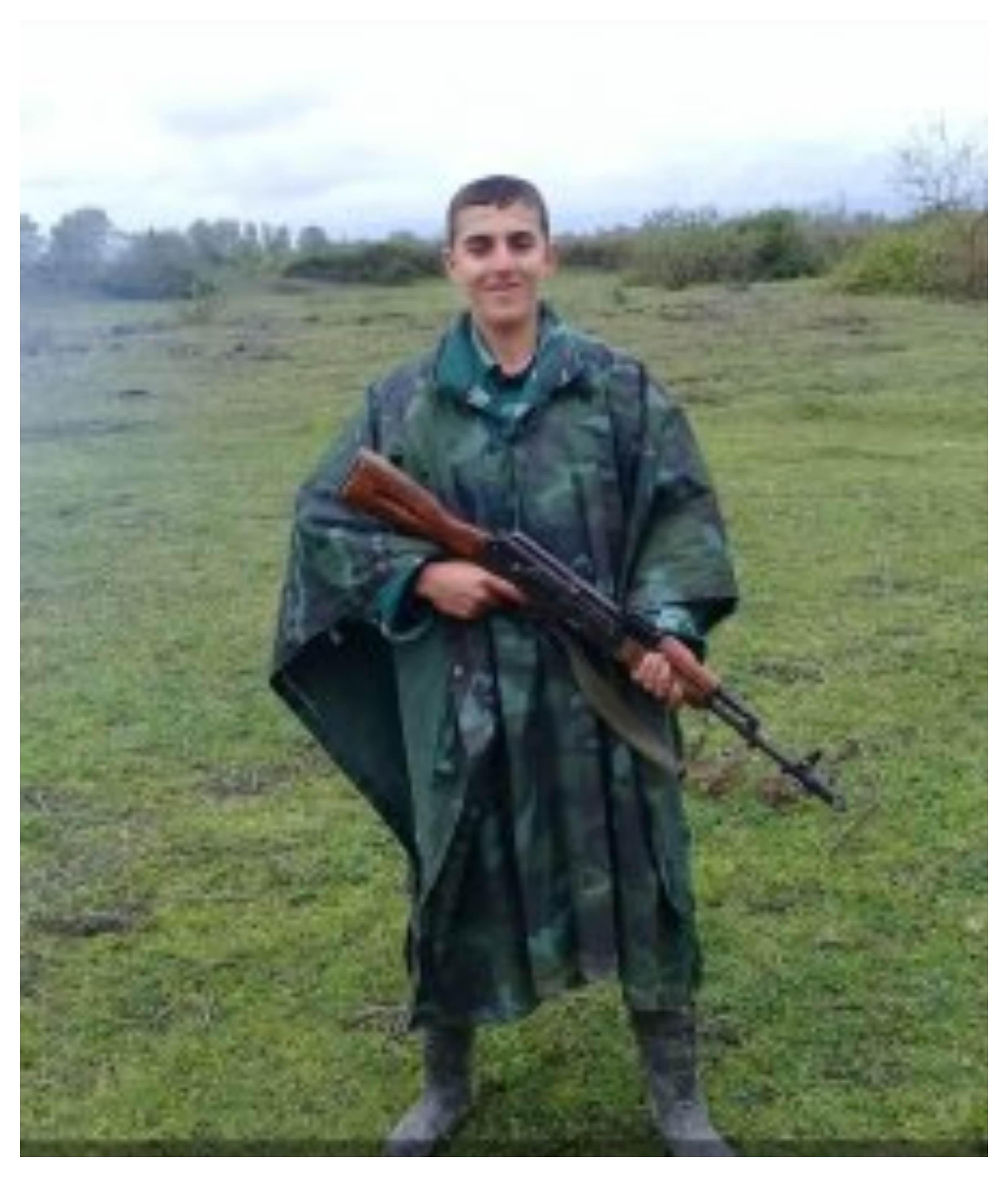 Lənkəranda Azərbaycan Ordusunun şəhid əsgəri Vüsal Hüseyinov