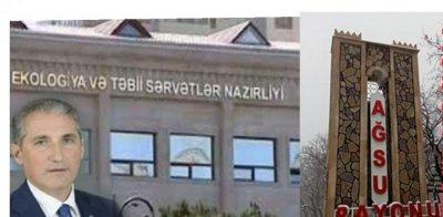 Ağsu Meşələri Məhv Edilir Muxtar Babayev Isə Buna Göz Yumur- VİDEO