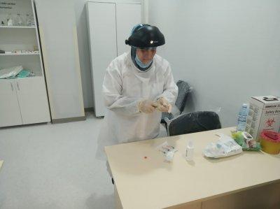Ağsu Rayon Mərkəzi Xəstəxanasında COVİD19 virusu əleyhinə vaksinlərin vurulması davam edir - FOTOLAR+VİDEO