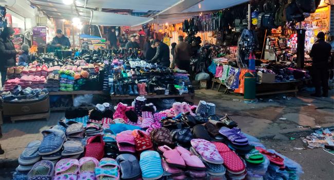 """""""Vasmoy bazarı""""nda Biabırçılıq - ŞOK Görüntülər"""