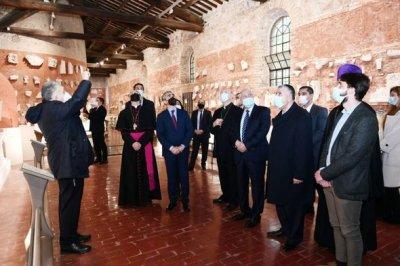 Mehriban Əliyevanın təşəbbüsü ilə Vatikanda daha bir tarixi abidə bərpa ediləcək - FOTO