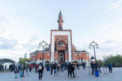 Leyla Əliyevanın təşəbbüsü ilə Moskvada iftar süfrəsi açıldı - FOTO