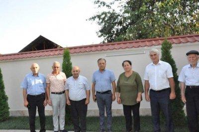 Deputat Cavanşir Feyziyev Baş Zəyzid və Orta Zəyzid kəndlərinin sakinləri ilə görüşüb