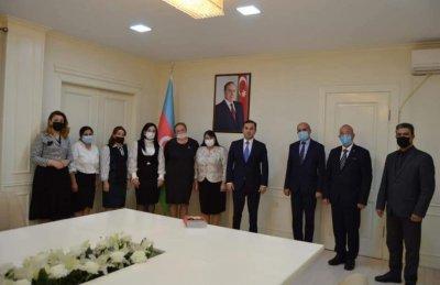 İsmayıllı təhsil işçiləri  Prezidentin Sərəncamı ilə təltif edilib